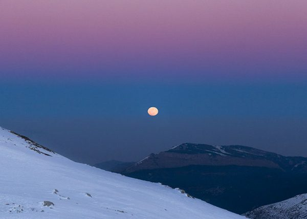 Helmos Blue Moon Night 2018 Kalavryta Ski Center